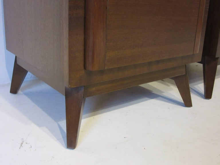 Eliel Saarinen Nightstands for R-Way Modern For Sale 1