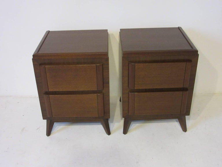 Eliel Saarinen Nightstands for R-Way Modern For Sale 2