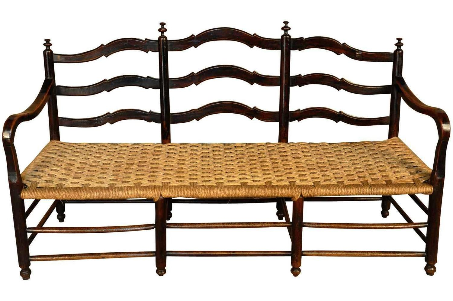 Italian Sofa And Pair Of Chairs Set In Walnut At 1stdibs