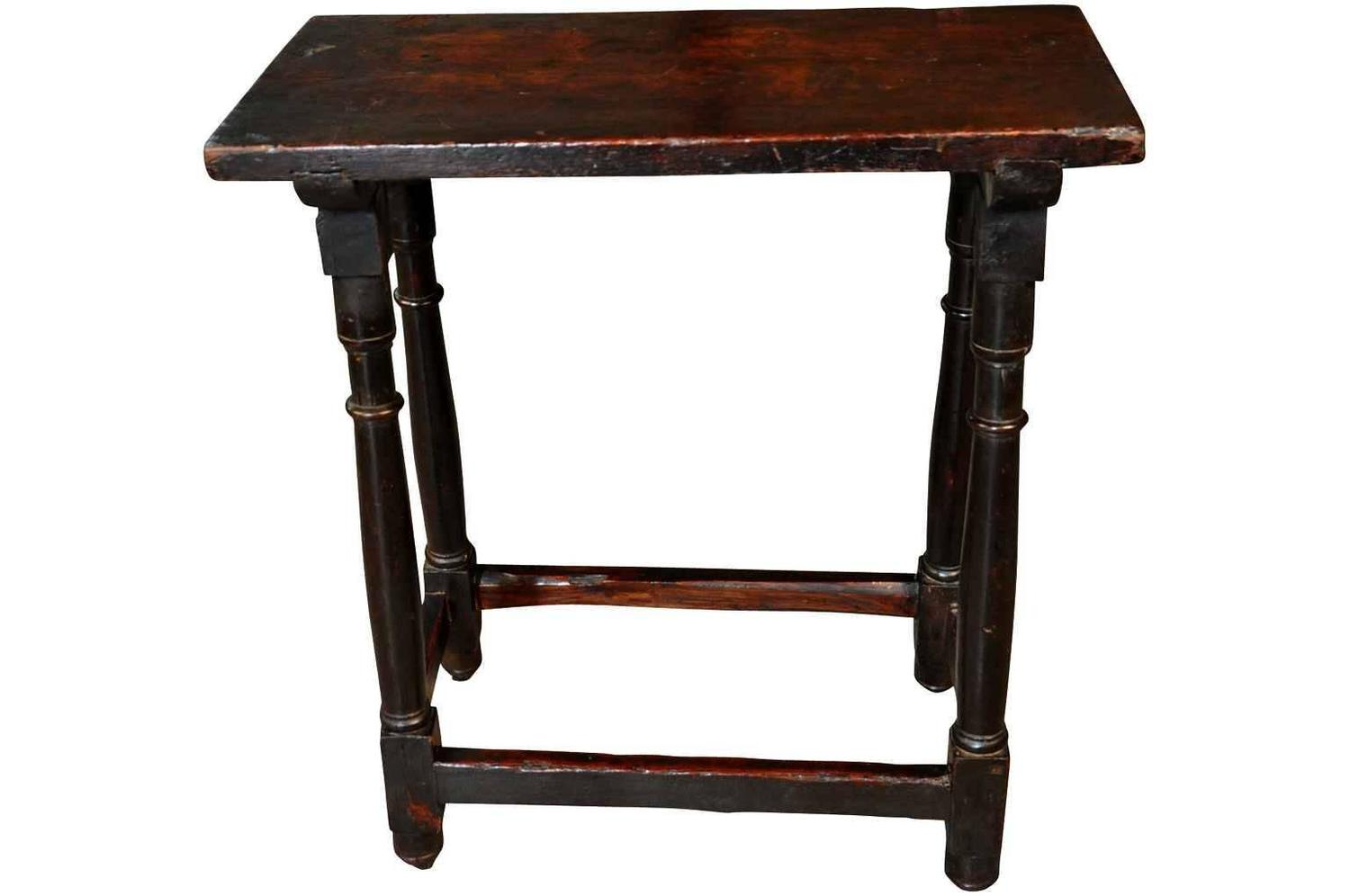 Spanish 18th Century Side Table Or Console At 1stdibs