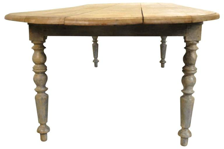 this 19th century french louis philippe dining table is no longer