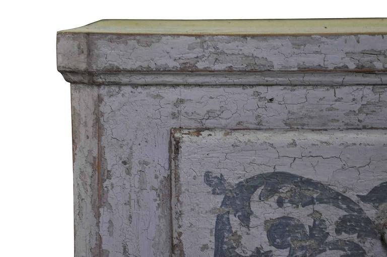 Spanish 19th Century Commode in Painted Wood For Sale 1