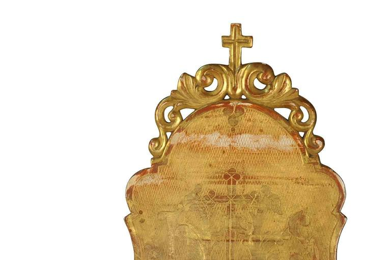 19th Century Gilt Bible Stand from Northern Italy In Excellent Condition For Sale In Atlanta, GA