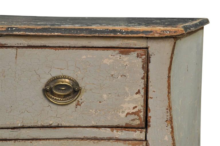 French Mid-19th Century Painted Commode For Sale 1