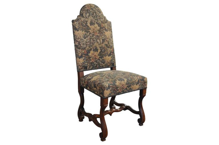 Set of Six Italian Dining Chairs In Excellent Condition For Sale In Atlanta, GA