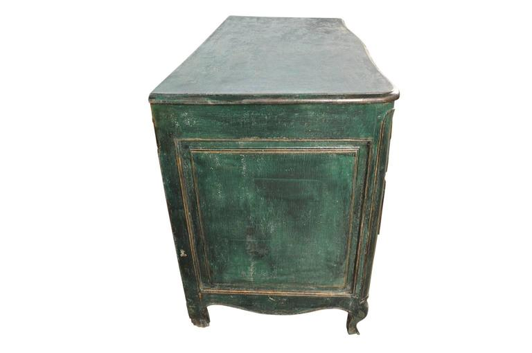 French Early 19th Century Arbalette Commode In Excellent Condition For Sale In Atlanta, GA