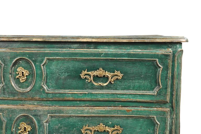 Oak French Early 19th Century Arbalette Commode For Sale