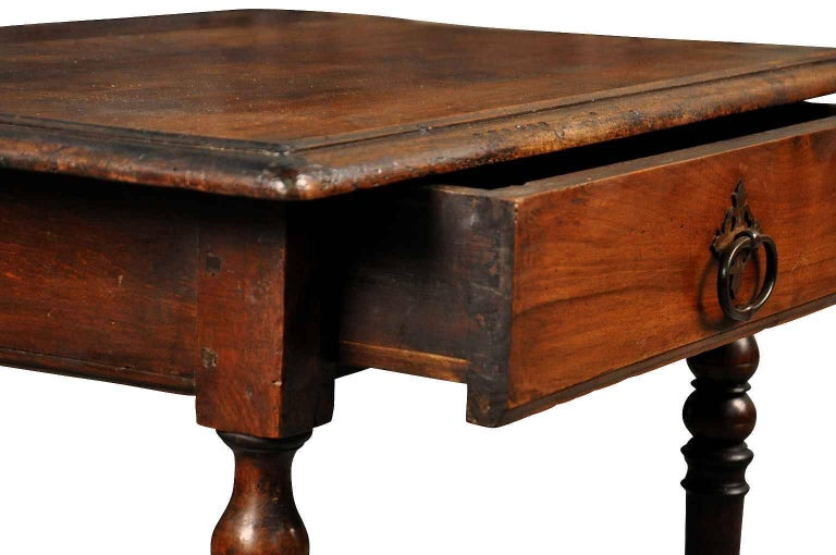 french 19th century louis xiii style side table at 1stdibs. Black Bedroom Furniture Sets. Home Design Ideas