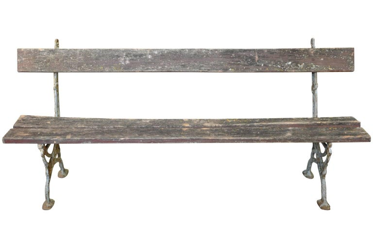 Pair of 19th Century French Garden Benches 3