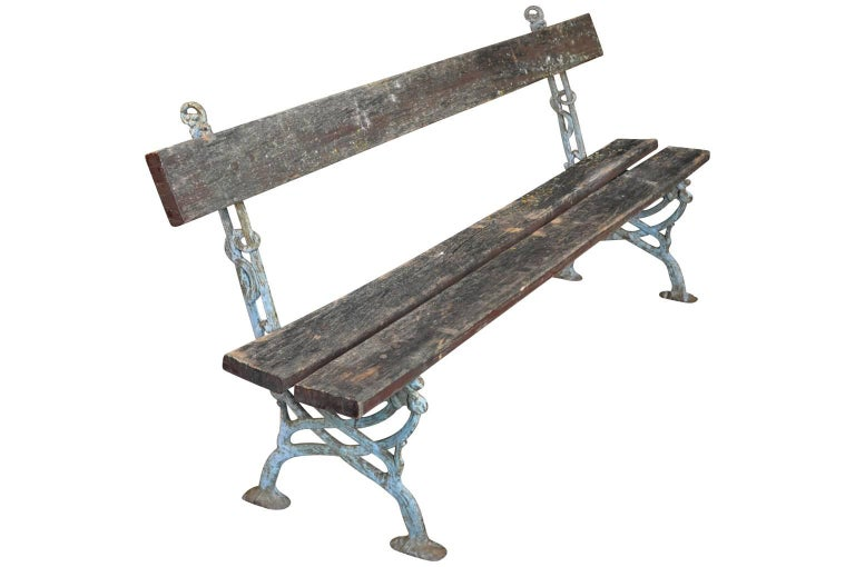 Pair of 19th Century French Garden Benches 5