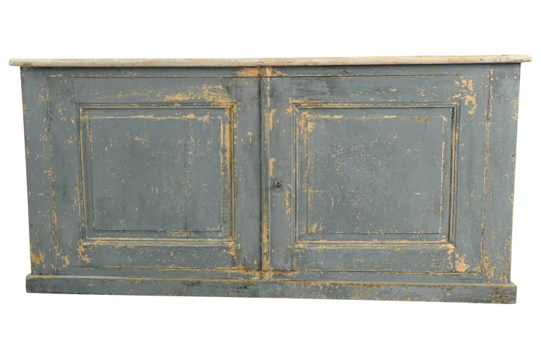 Painted French, 19th Century Buffet For Sale