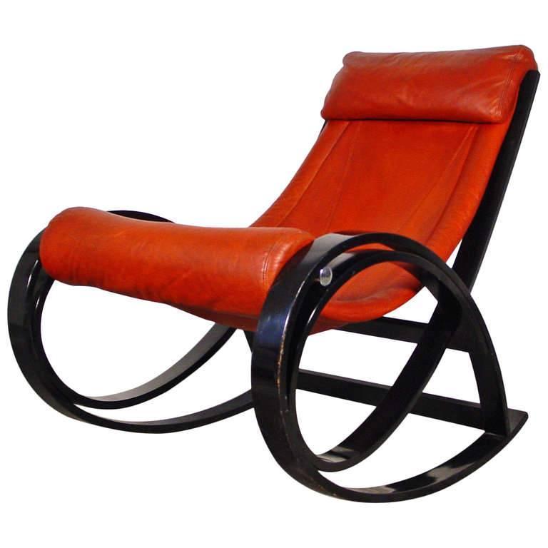 Gae Aulenti For Pistoia Poltronova Quot Sgarsul Quot Rocking Chair
