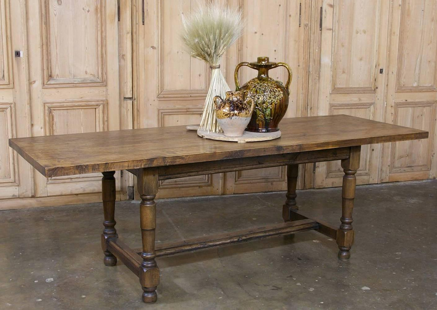 Early 19th Century Rustic Country French Farm Table At 1stdibs