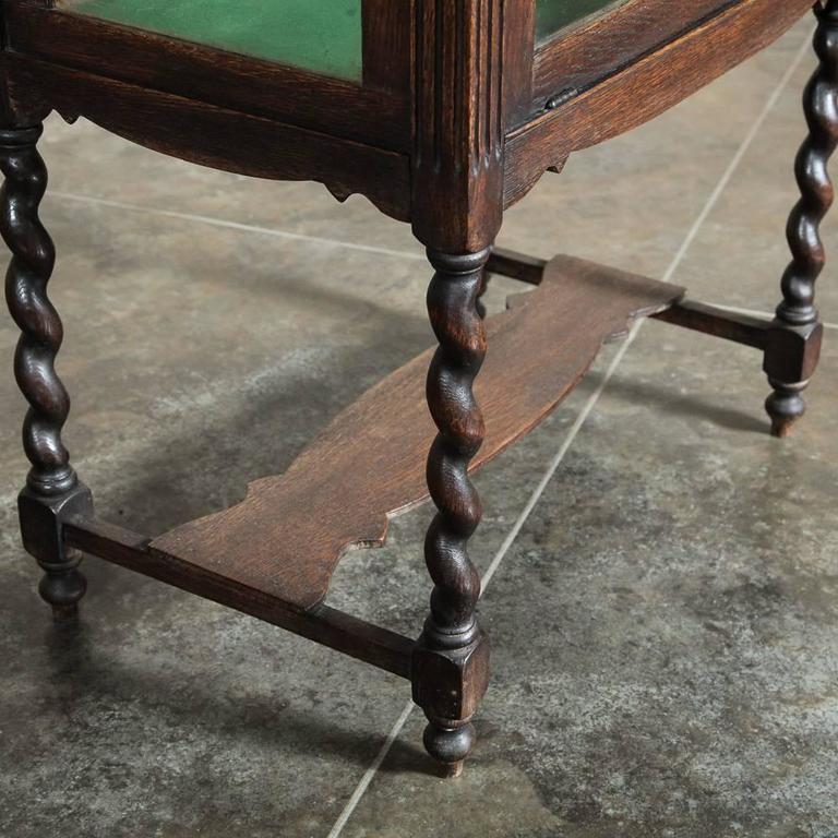 Antique English Display Tea Cart At 1stdibs