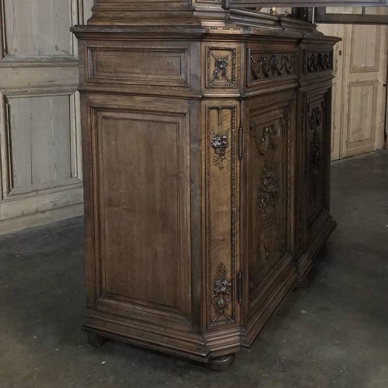19th Century Grand French Regence Bookcase, Vitrine For Sale 3