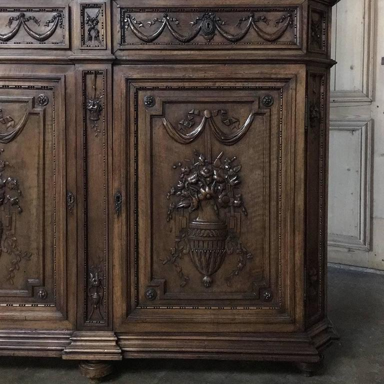 19th Century Grand French Regence Bookcase, Vitrine For Sale 2