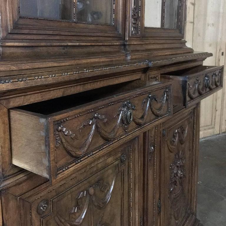 19th Century Grand French Regence Bookcase, Vitrine For Sale 1