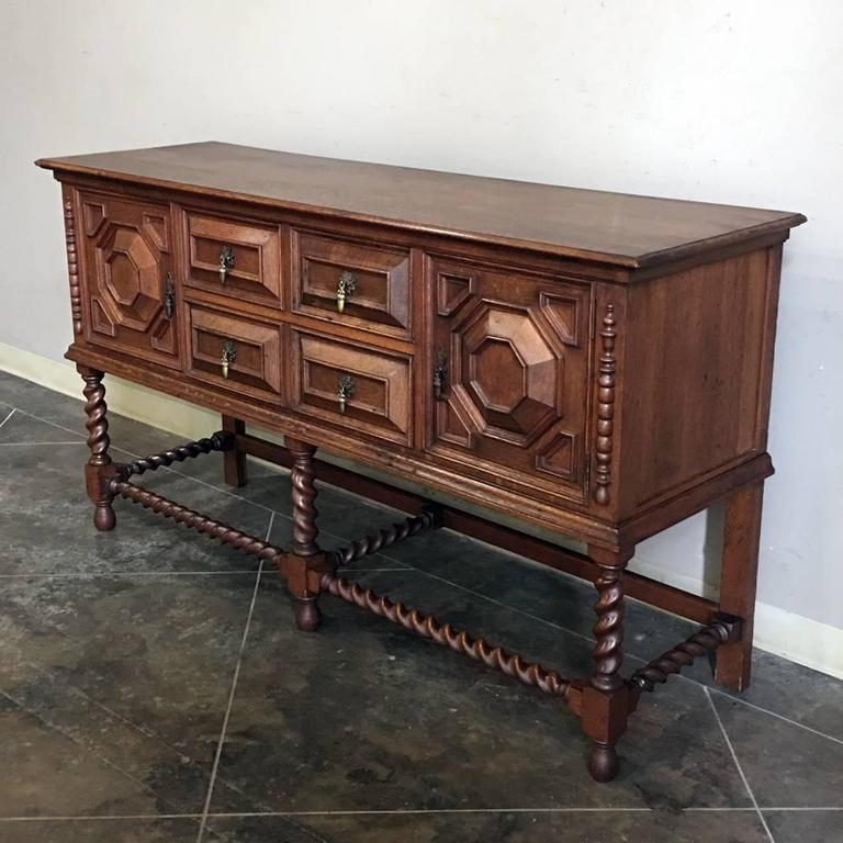 Buffet Cuisine 1950: Antique Jacobean Buffet, Circa 1930 At 1stdibs