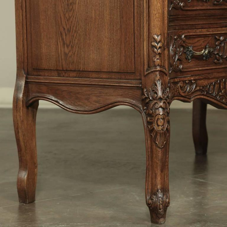 Country french hand carved commode for sale at stdibs