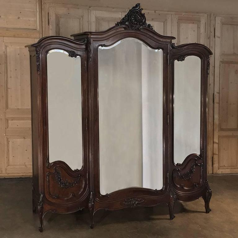 19th Century French Signed By Mercier Freres Louis XV