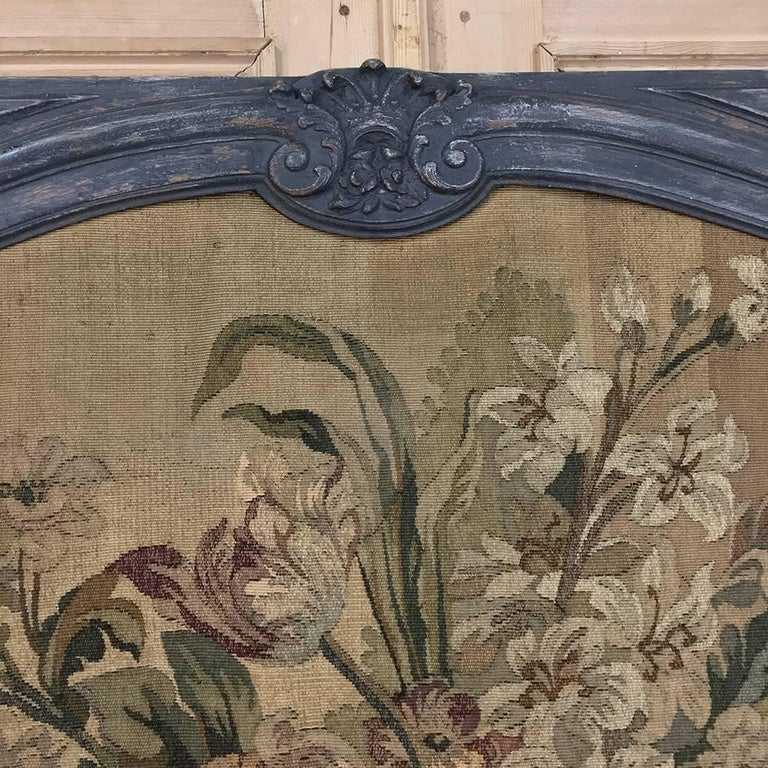 Late 19th Century 19th Century Grand Trumeau with Aubusson Tapestry For Sale