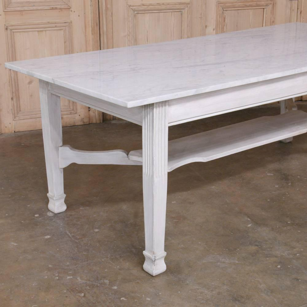 Antique Marble Top Dining or Confectioners Table For Sale  : 251053412cz from www.1stdibs.com size 1000 x 1000 jpeg 76kB