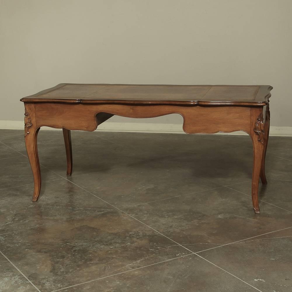19th Century Country French Fruitwood Desk at 1stdibs