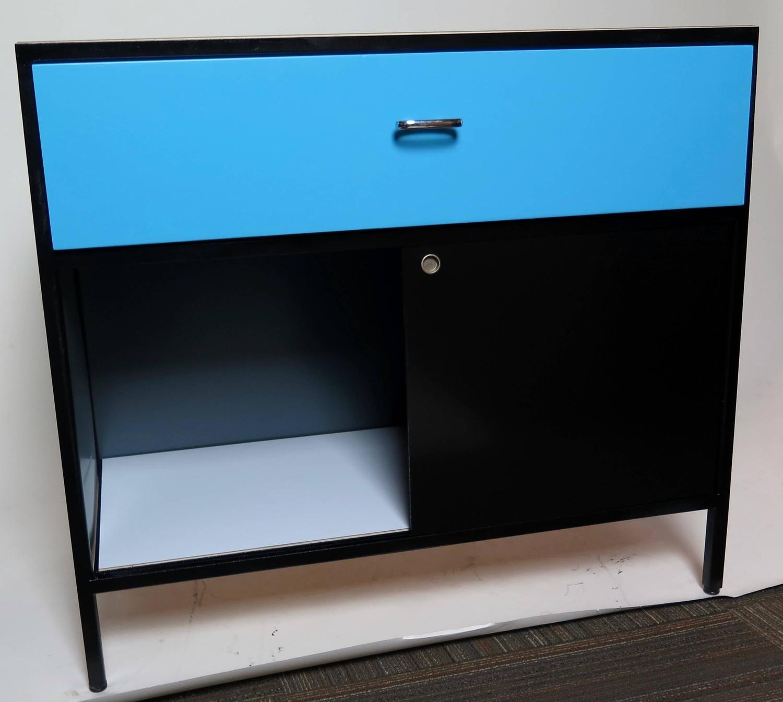 Steel Frame Kitchen Cabinets: 1950 George Nelson Steel Frame Cabinet For Sale At 1stdibs