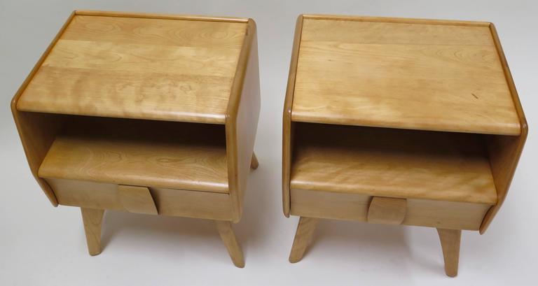 heywood wakefield bedroom furniture set value suite pair nightstands sculptura