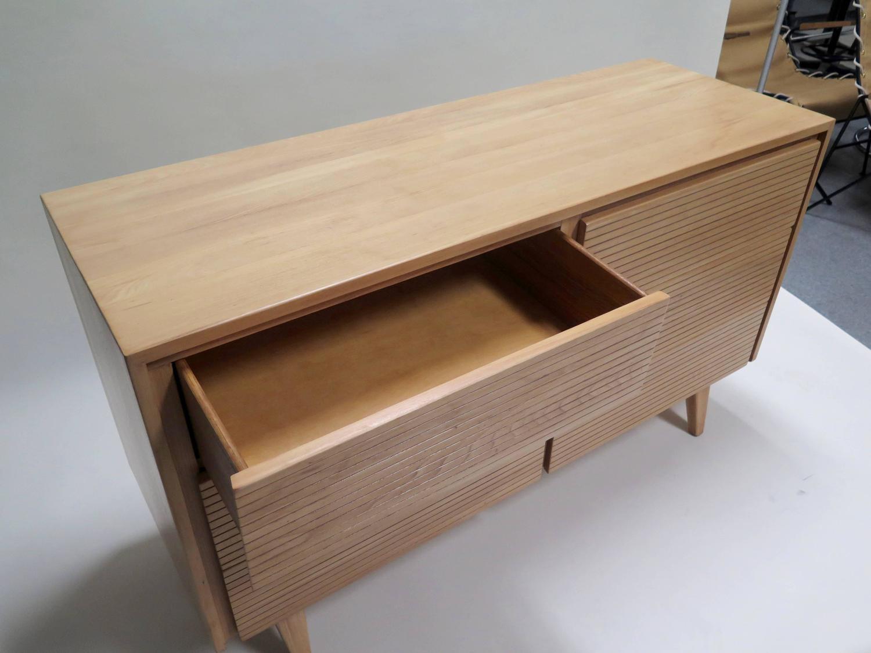 Ash Wood Furniture ~ Mengel furniture solid ash wood six drawer dresser for