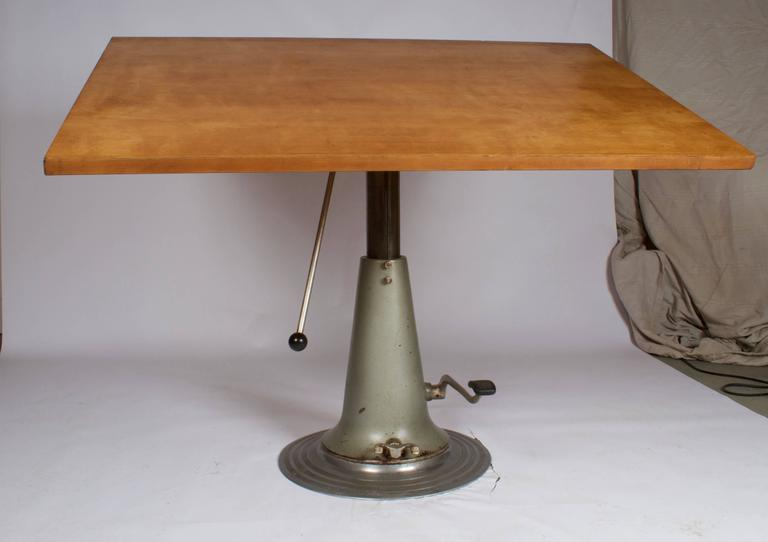Incredible 1940 Nike Drafting Table For Sale At 1stdibs