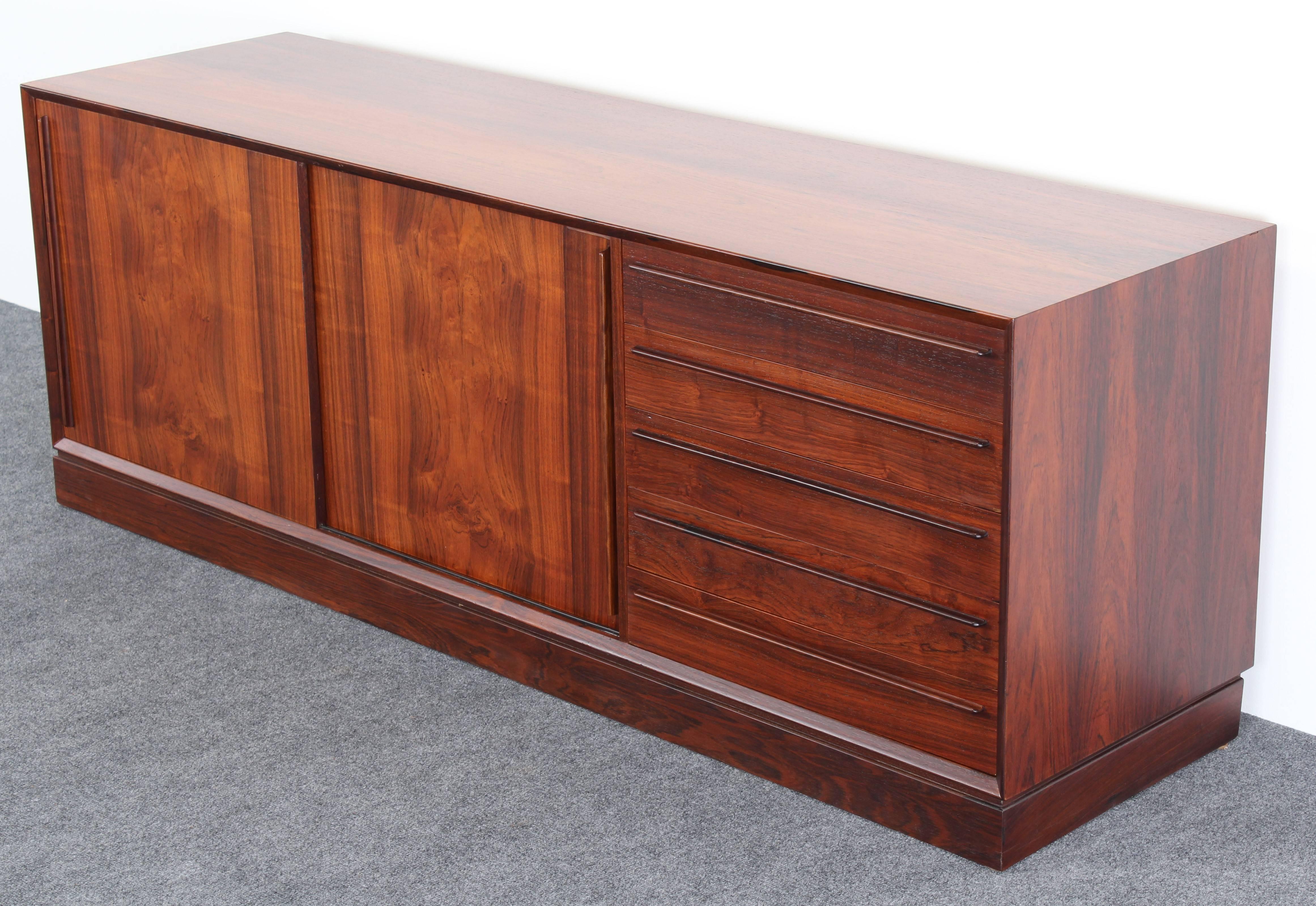 Danish Rosewood Credenza : H p hansen danish rosewood credenza s for sale at stdibs