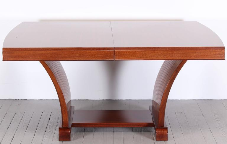 Rway art deco streamlined dining table in the style of for R way dining room furniture