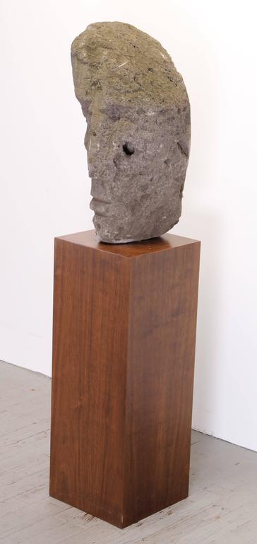 Mid-Century Modern Volcanic Stone Sculpture by Umberto Romano, 1950