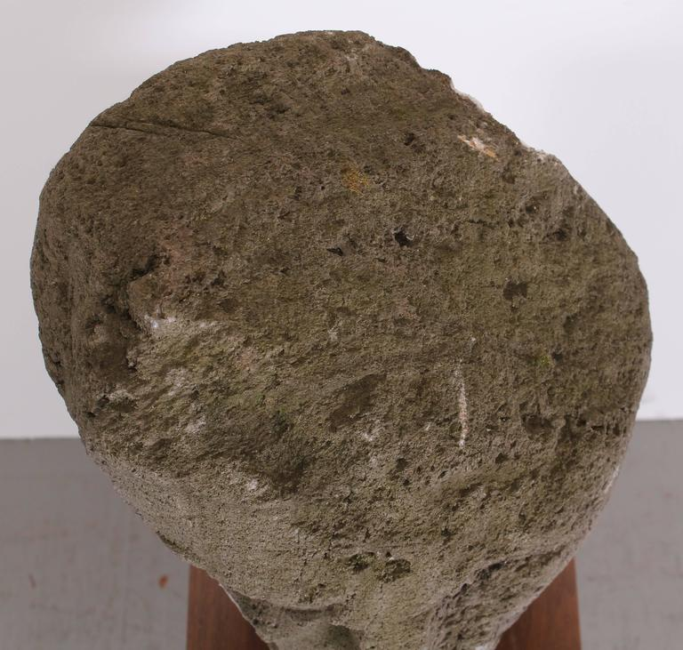 Mid-20th Century Volcanic Stone Sculpture by Umberto Romano, 1950
