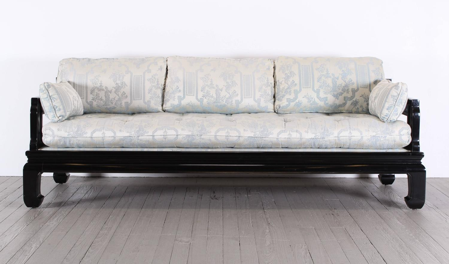 michael taylor style sofa for century 1970 at 1stdibs. Black Bedroom Furniture Sets. Home Design Ideas