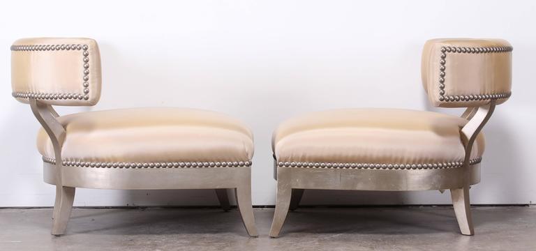 Pair of Marge Carson u0026#39;Santoriniu0026#39; Chairs, 2000 at 1stdibs