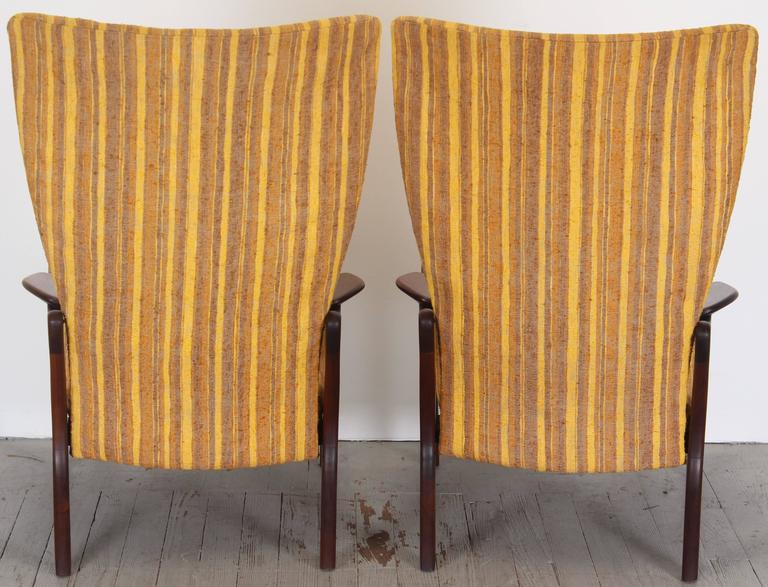 Pair of Original Adrian Pearsall Wingback Chairs, 1960s 6