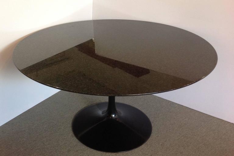 Saarinen Pedestal Granite Top Dining Table 54 Quot Round For