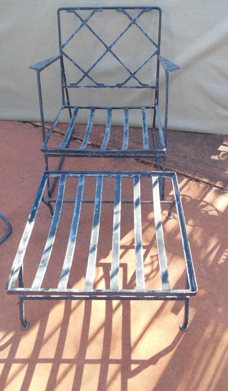 Salterini Patio Furniture Parts: Salterini Vintage Patio Set By Mario Tempestini For