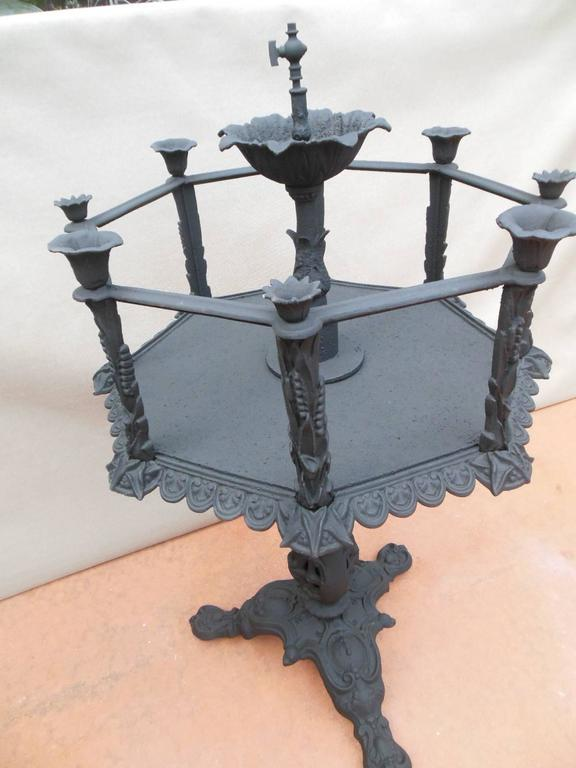 Fiske cast iron fish tank for sale at 1stdibs for Cast iron fish
