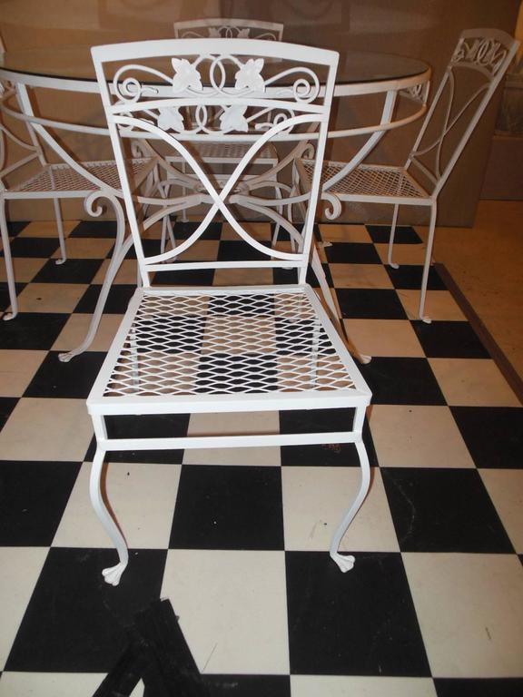 Salterini Patio Dining Set Mt Vernon Pattern For Sale At