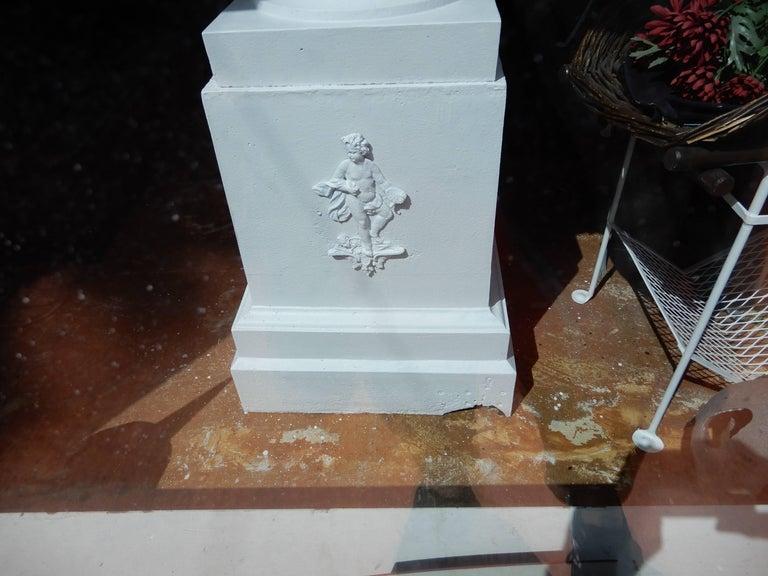 Garden Urn, Tall Victorian Cast Iron For Sale 2