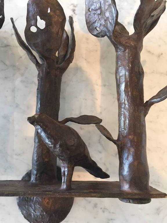 Diego Giacometti Rare Bronze Sconces At 1stdibs
