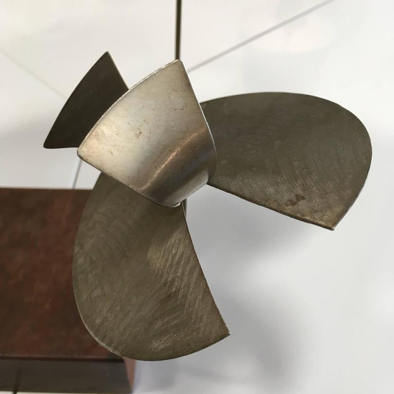 Kinetic Harry Bertoia Sculpture In Excellent Condition For Sale In Los Angeles, CA