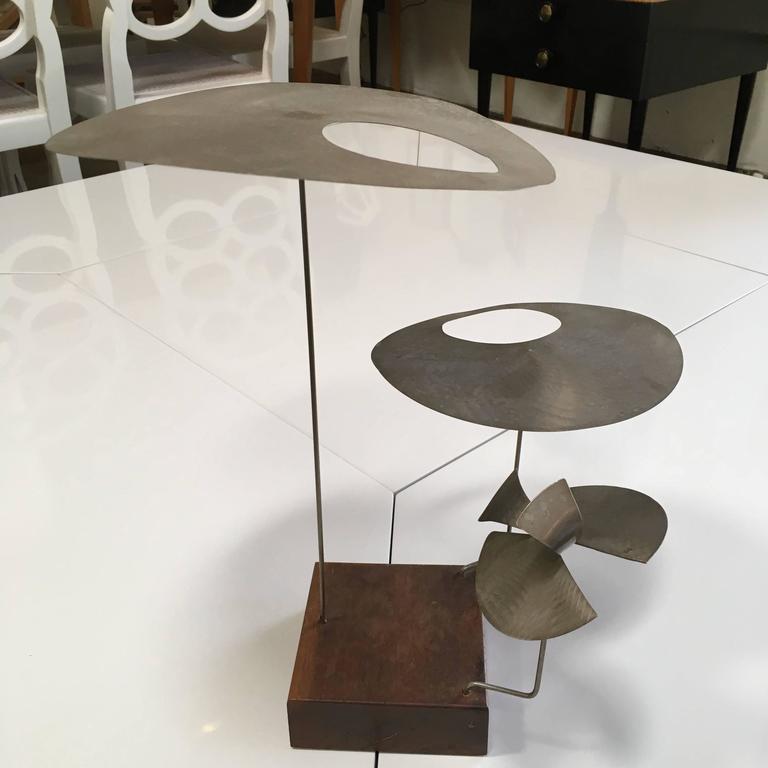 20th Century Kinetic Harry Bertoia Sculpture For Sale