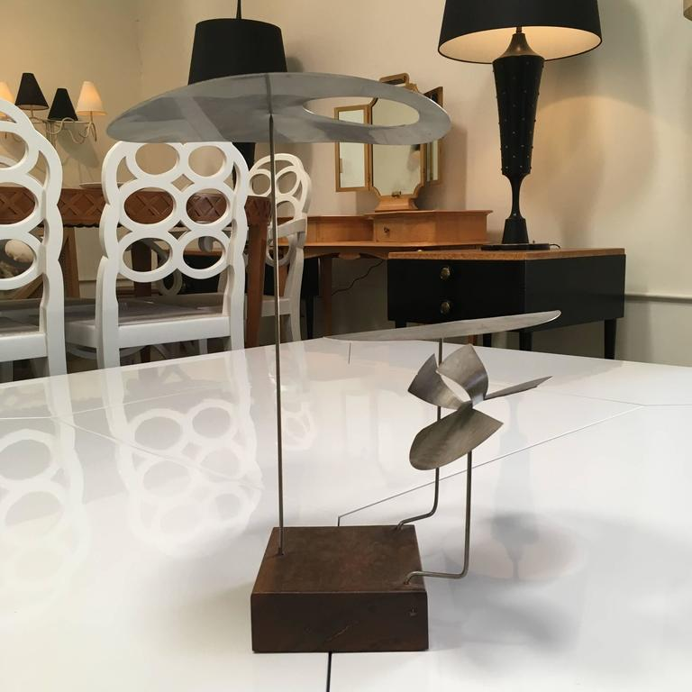 Kinetic Harry Bertoia Sculpture For Sale 1