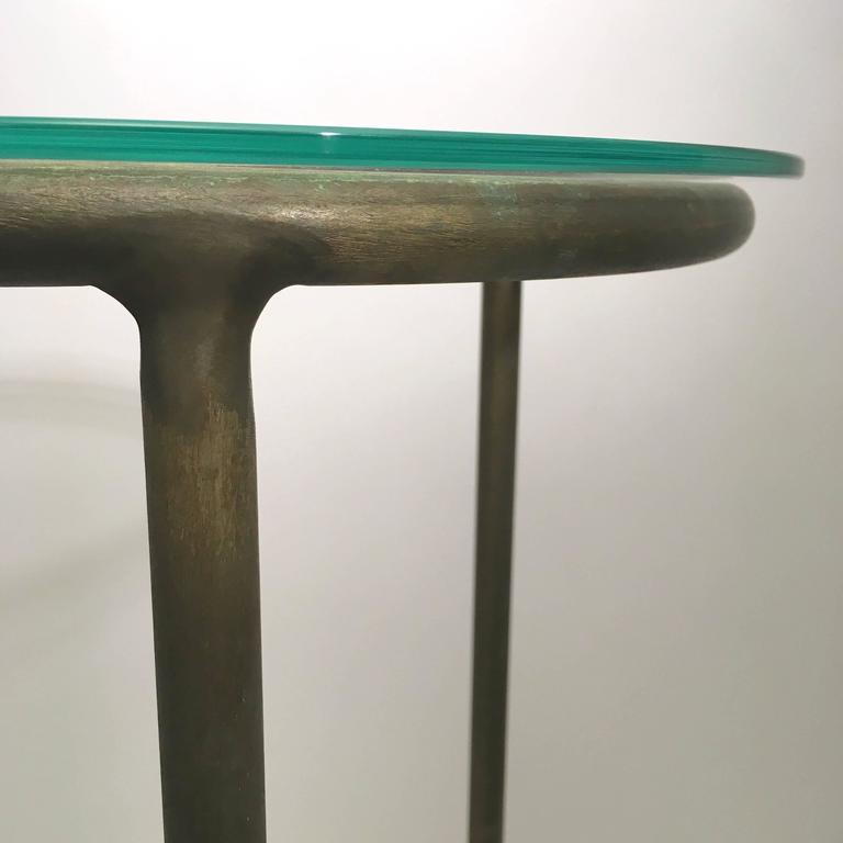 American Walter Lamb Bronze Pedestals For Sale