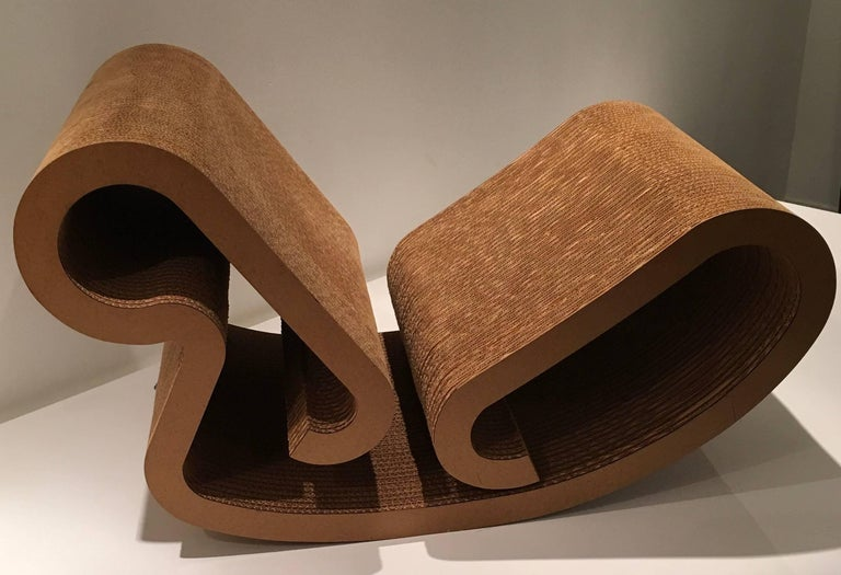 "Frank Gehry ""Easy Edges"" Rocking Chair 2"