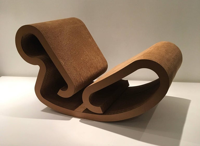 "Frank Gehry ""Easy Edges"" Rocking Chair 3"